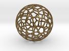 Alien Sphere Small (3cm) in Raw Bronze