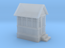 CPR John Street Gatehouse - N (1:160) Scale in Frosted Ultra Detail