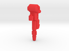 G2P-004b - BA Gun in Red Strong & Flexible Polished
