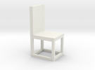 chair print 3d in White Strong & Flexible