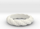 Torque Ring Size 23 in White Strong & Flexible
