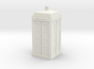Met Police Box mk2 in White Strong & Flexible