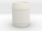 Barrel in White Strong & Flexible