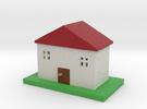 house model larger in Full Color Sandstone
