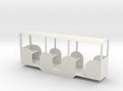 miniature railway coach in White Strong & Flexible