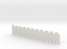 1x1 / 2x1 5mm Needle Selector in White Strong & Flexible