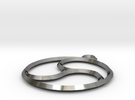 Trefoil Pendant in Premium Silver