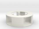 Mini Siren Impeller- Single Pitch in White Strong & Flexible