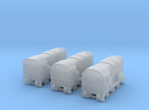 BR 08Class Diesel T-Gauge 3pack - Uses Eishindo Wh in Frosted Ultra Detail