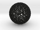 Geodesic Rings, rtube = 80% in Black Strong & Flexible