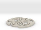 Celtic Knot Coaster in Sandstone