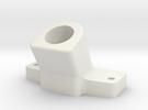Hexa leg holder for 12mm carbon tube in White Strong & Flexible