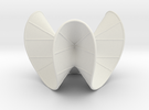 Cubic Surface KM 19 in White Strong & Flexible