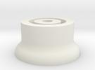 Folding GPS Bolt Mount in White Strong & Flexible