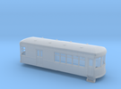 N gauge short trolley  combine no2 in Frosted Ultra Detail
