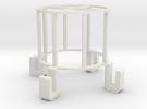 100ml duran holder for Sonics VibraCell ultrasonic in White Strong & Flexible