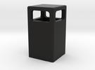 Mülleimer / dustbin (1/87) in Black Strong & Flexible