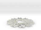 bloemhartknoet in White Strong & Flexible