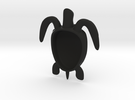 sea turtle form shelled in Black Strong & Flexible