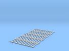 Spur N Kupplungsstange x 60 NEM 1:160 bar coupling in Frosted Ultra Detail