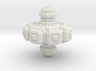 Fractal Spinning Top in White Strong & Flexible