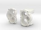 Vorsatzgetriebe Losi MRC Achse 1.0 in White Strong & Flexible