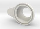 Mini-Mill Vacuum Shroud in White Strong & Flexible