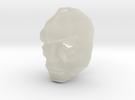 Jor-El 1/6 Crystal Mask keychain / Ear Ring Superm in Transparent Acrylic