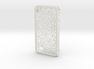 IPhone 4/4S - Maze Case in White Strong & Flexible
