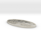 ODC Technologies Logo in White Acrylic