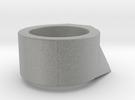 Dr Evil Ring in Metallic Plastic