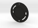 YingYang smoke detector (base) in Black Strong & Flexible