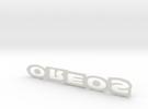 Oreos Logo in White Strong & Flexible
