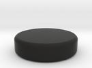 Backgammon piece in Black Strong & Flexible
