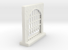Large Portcullis - Single in White Strong & Flexible