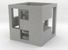 cube_02 in Metallic Plastic