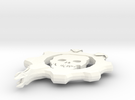 Gears Gear From Gears Of War in White Strong & Flexible Polished