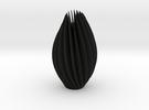 Twist Sculpture in Black Strong & Flexible