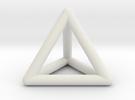 Tetrahedron in White Strong & Flexible