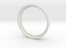 Lens Ring 121712B in White Strong & Flexible