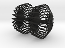 Spiderweb earrings in Black Strong & Flexible