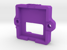 520TVL 3-5V Cam Housing Part02 V4 in Purple Strong & Flexible Polished