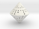36-Sided Die 2d6 in White Strong & Flexible