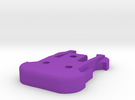 GoPro Iso Mount Male in Purple Strong & Flexible Polished