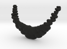 The Bubble Necklace in Black Strong & Flexible