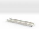 BURLINGTON 165mm SINGLE TRACK in White Strong & Flexible