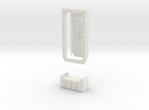 Basic 1x1 Door in White Strong & Flexible