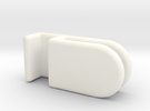 AquaOne Nano Lid Clips in White Strong & Flexible Polished