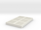 "SCIFI Corridor Floor 2""x3"" in White Strong & Flexible"