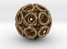 Hole Tri-ball in Raw Brass